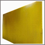 Expanded Metal Back Urethane Sheeting