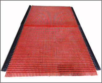 Polyurethane Coated Steel Wire Screen