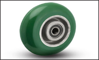 Polyurethane Crowned Wheel