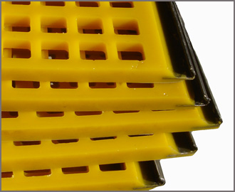 Polyurethane Hook Strip Screens