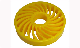 Polyurethane Soft Touch Wheel