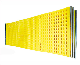Polyurethane Cross Tension Screen Cloth