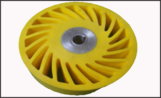Urethane No-crush wheel