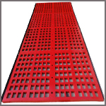 polyurethane tensioned screen